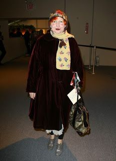 Cool Chic Style Fashion: Lynn Yaeger è un reporter di moda... ECCENTRICA