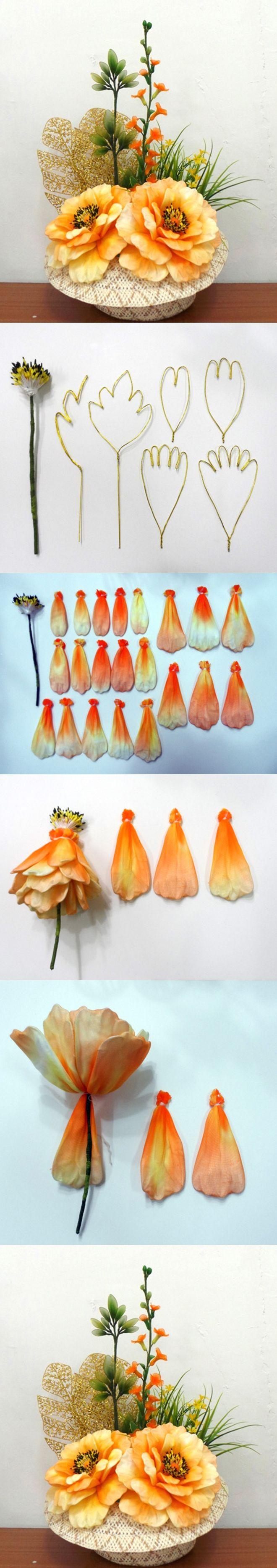 DIY Beautiful Nylon Peony Blossom - http://mistergandmecrafts.me/diy-beautiful-nylon-peony-blossom/