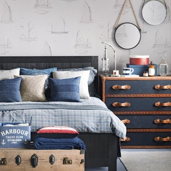 Best 25 Nautical Theme Bedrooms Ideas On Pinterest