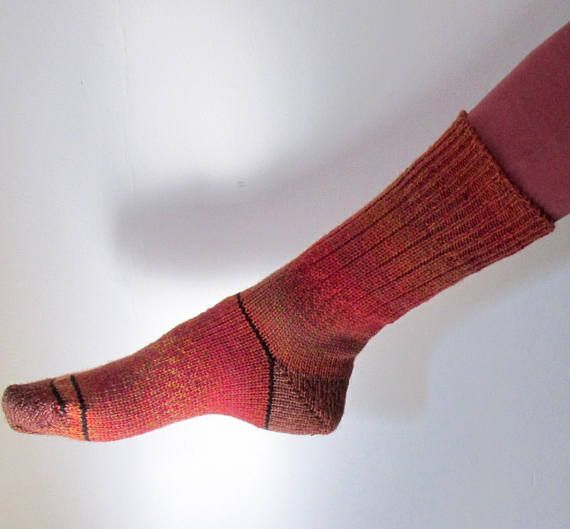 Soulmate socks - similar, but not the same, size 7/8, 75% Wool, super warm, machine washable