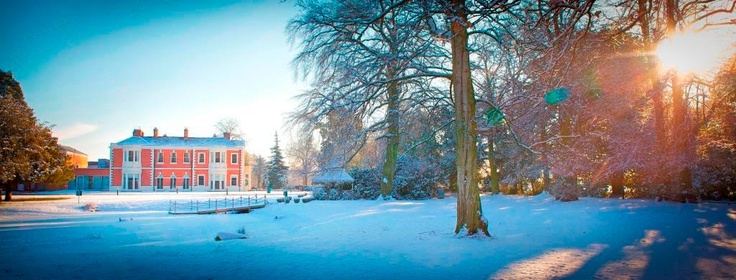 The Doubletree by Hilton Hotel & Spa Chester - perfect for a winter wonderland wedding