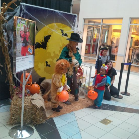 Halloween Event at Burlington Mall  On October 31 make plans to visit Burlington Mall for their annual Halloween event. Children and their parents are invited to visit the free face painting and photo stations (my kids loved these!) Be sure to bring your camera to capture the moments. Also, enjoy free candy for the kids while supplies last.