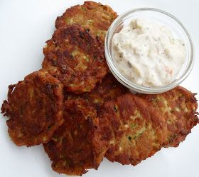 Happier Than A Pig In Mud: Poor Man's Crab Cakes (Made With Zucchini?)