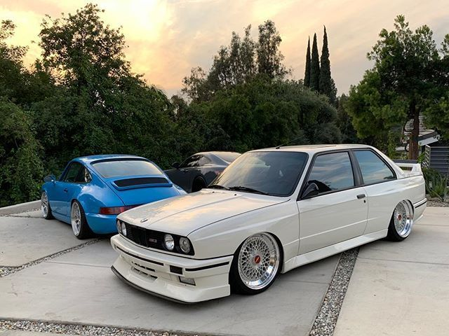 Rawbnard Back In The E30 Game Double Step 18 Rotiform Lhr Street Racing Cars Bmw Bmw E30