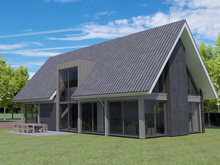 Building design architectuur schuurhuis pinterest for Huizen stijlen