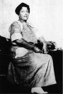 "Josephine ""Sadie"" Marcus Earp, the common law wife of Wyatt Earp, on July 4, 1921."