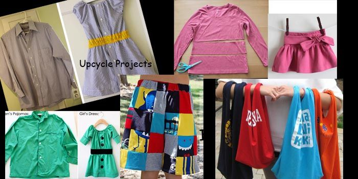 I love the upcycle idea!  I think my grandchildren are about to get some clothing.  This sounds like fun!!  :)