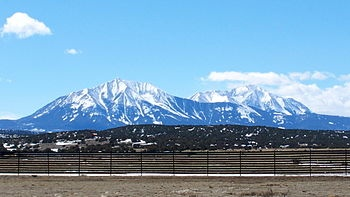 Spanish Peaks.JPG.......Sangre_de_Cristo_Mountains in Southern Colorado and Northern New Mexico.