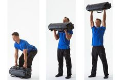 9 Sand Bag Exercises