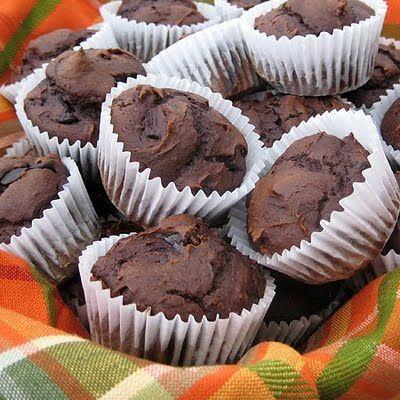 Chocolate (Pumpkin) Muffins - Real Mom Kitchen