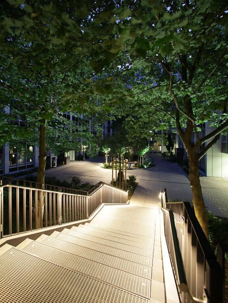 Projekte lumen3 lichtplaner büro für lichtplanung und lichtdesign in münchen stair lightingoutdoor lightinglighting