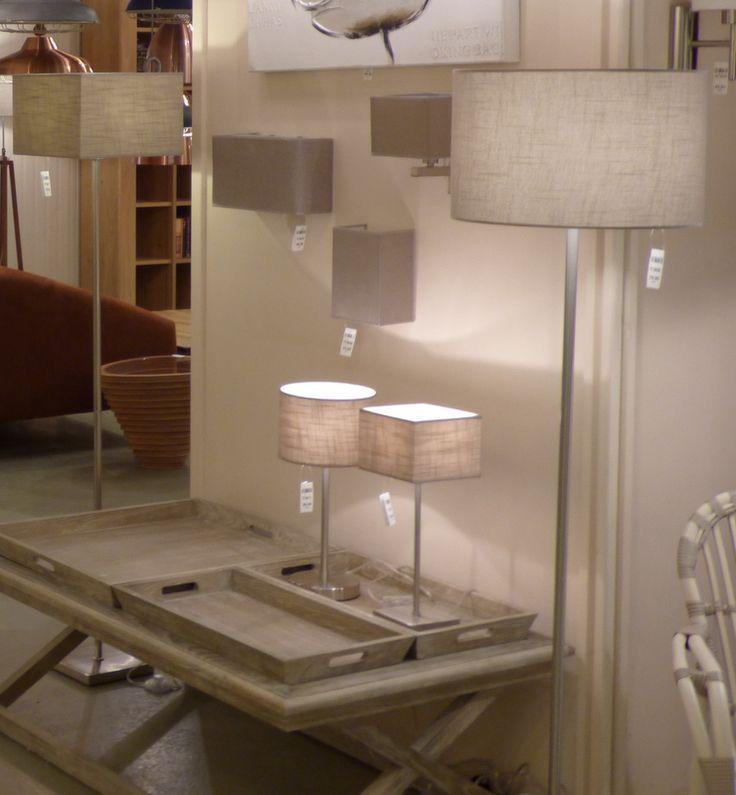 Trend Showroom winkel interieur verlichting romantisch landelijke Lampen Lampenkappen in deze serie Hanglampen vloerlamp