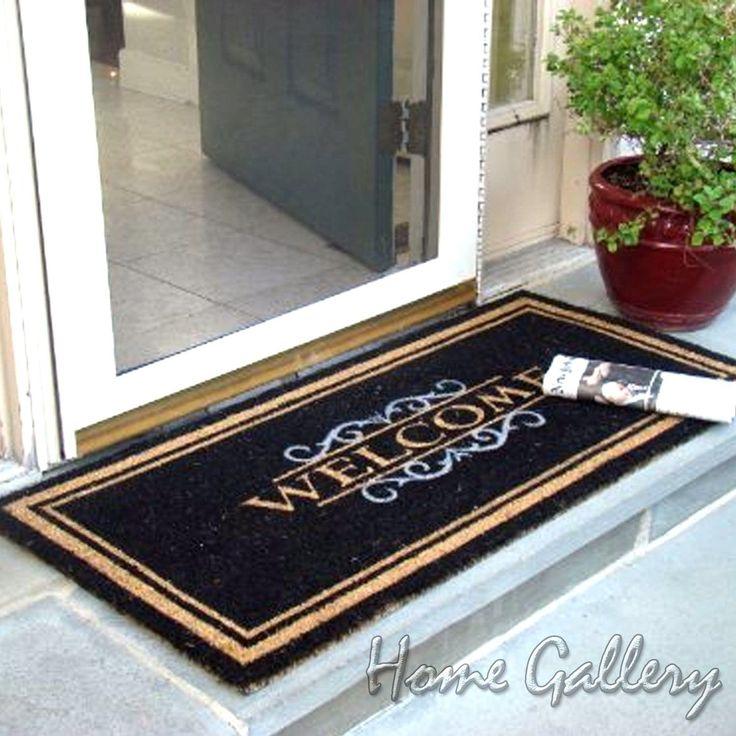 Double Door Outdoor Doormats