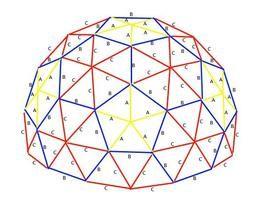 Cómo construir una maqueta de una cúpula geodésica