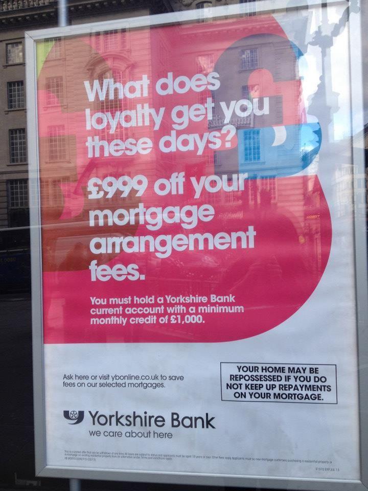 Holvi's Build a Bank   London 2013 - Never seen a disclaimer quite like this before! #Holvi #FinTech #FutureOfBanking