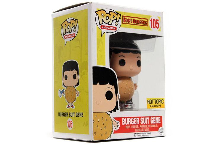 POP! Animation: Bob's Burgers - Burger Suit Gene