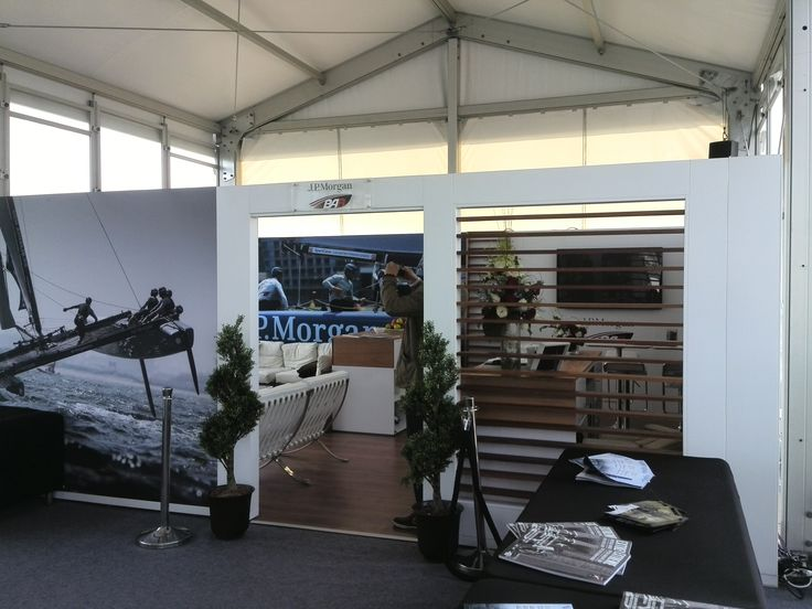 Olympic Sailing|Double Decker|Event Tent|Reception Tent|Working Desk