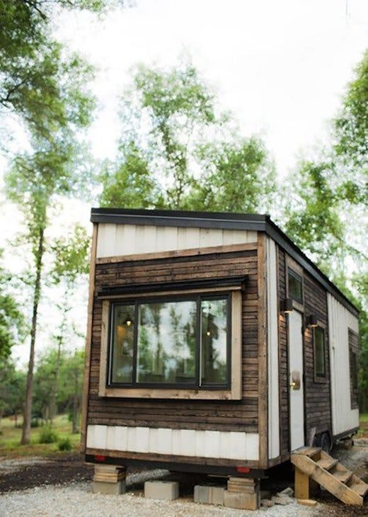 I Prefer Rustic Style Tiny Homes Over The More Modern Minimalist