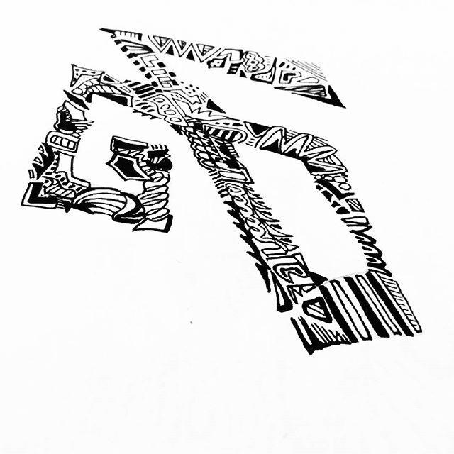அ!  Should do more of this!  #Tamil letters.  #ink #penandink #tamil #chennai #tamilnadu #alphabet #handlettering #zentangle #zentangleArt #doodle #doodlebook #sketch #sketchbook #newSketch #sunday #january #artjournal #zenArt #hobby #tamilwriting #fonts #calligraphy #calligraffiti #grafitti #inktangle #inkart #micron #iblackwork
