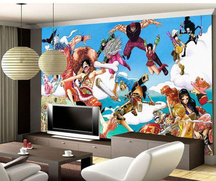 26 Wallpaper Dinding 3d Anime Us 16 73 38 Off Custom 3d