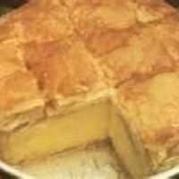 Galaktoboureko Custard Cake In Phyllo Dough Recipe