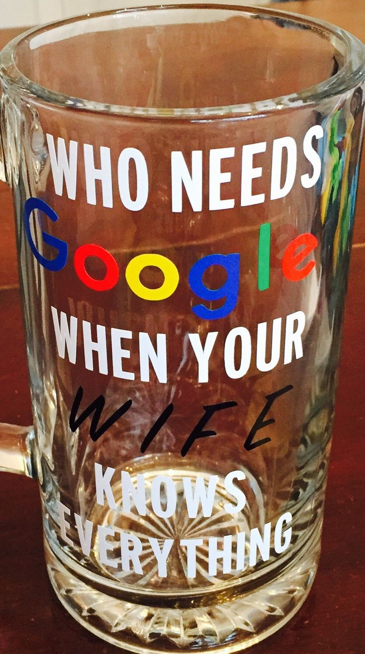 A personal favorite from my Etsy shop https://www.etsy.com/listing/267134136/beer-mug-glass-dad-fathers-day-google