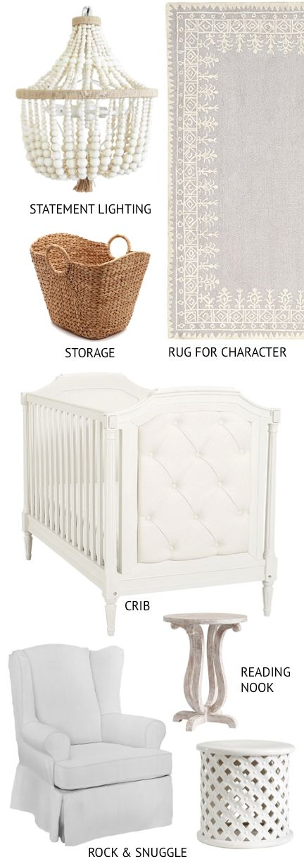 | Pottery Barn Kids Nursery Event | http://monikahibbs.com