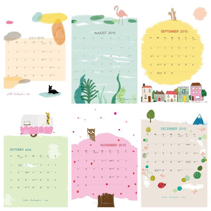 2015 Calendar by Suki McMaster