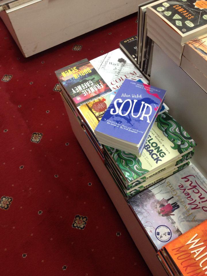 On display in Hanna's bookshop rathmines