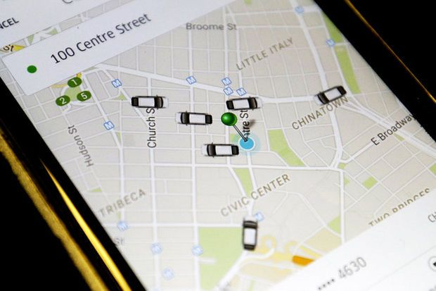 The woman demanded to be let out of the car when the real Uber driver called her cellphone.