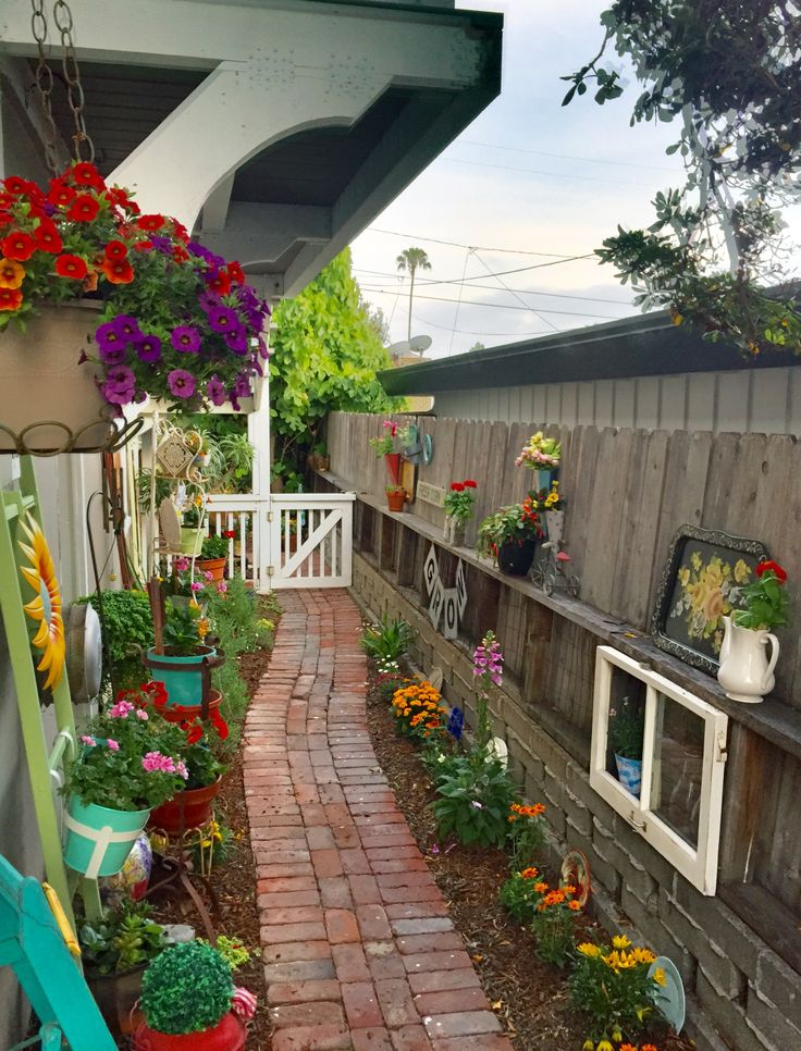 66 best Small Space Garden Ideas images on Pinterest ... on Landscape Design Small Area id=43794