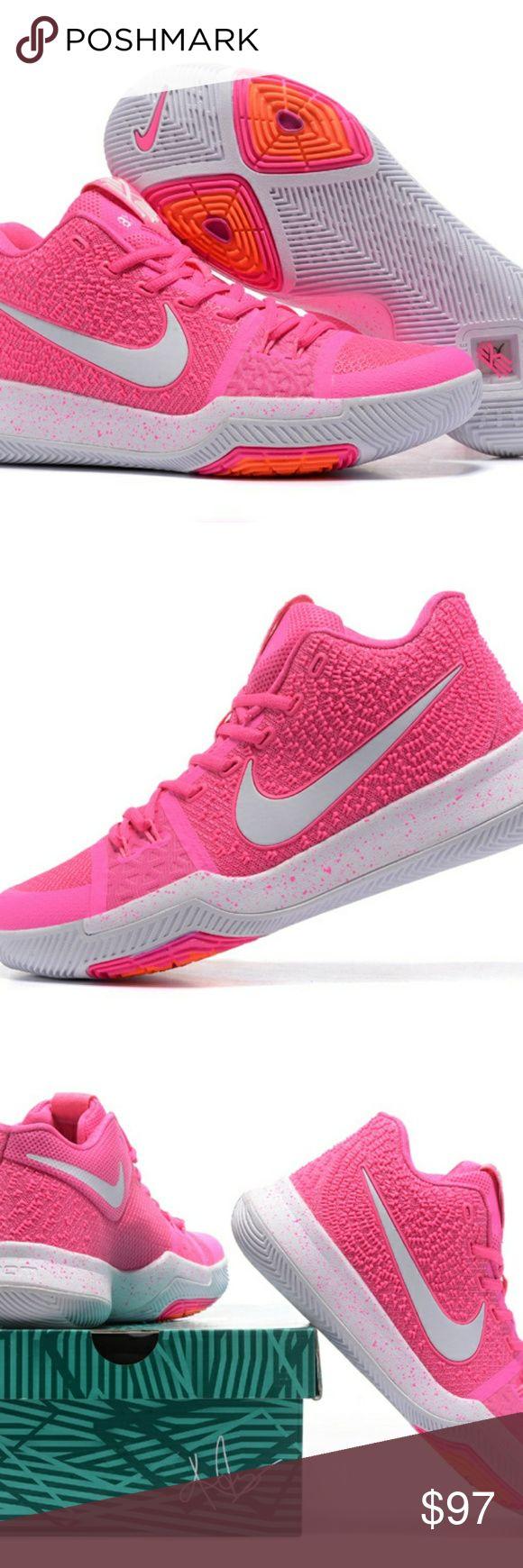 discount sale 1e74e c882e ... Newest Nike Kyrie 3 EP III Irving Vivid Pink White NWT . ...