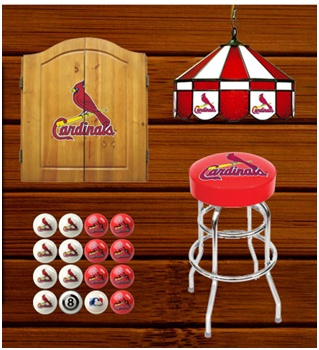The best place to get all your St. Louis Cardinals Man Cave goods!