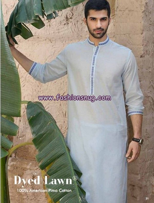 Gul Ahmed Summer Men Kurta Shalwar 2013