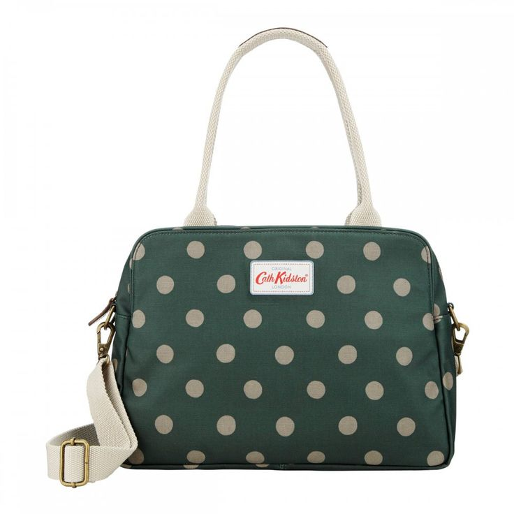 Green Button Spot Busy Bag #CathKidston #tote #handbag #AW14