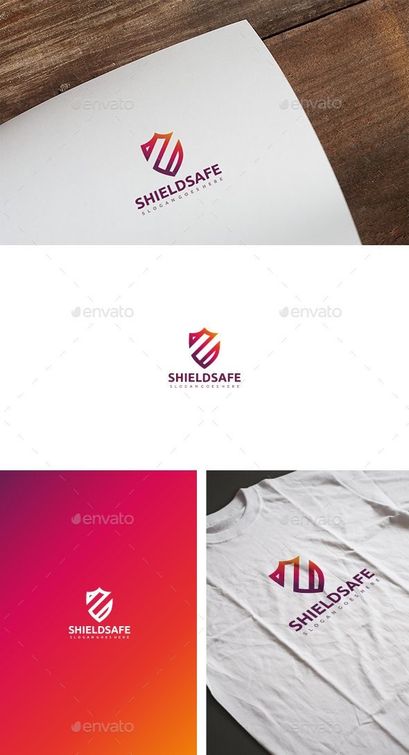 Shield Logo Template Vector EPS, AI. Download here: http://graphicriver.net/item/shield-logo/14851507?ref=ksioks
