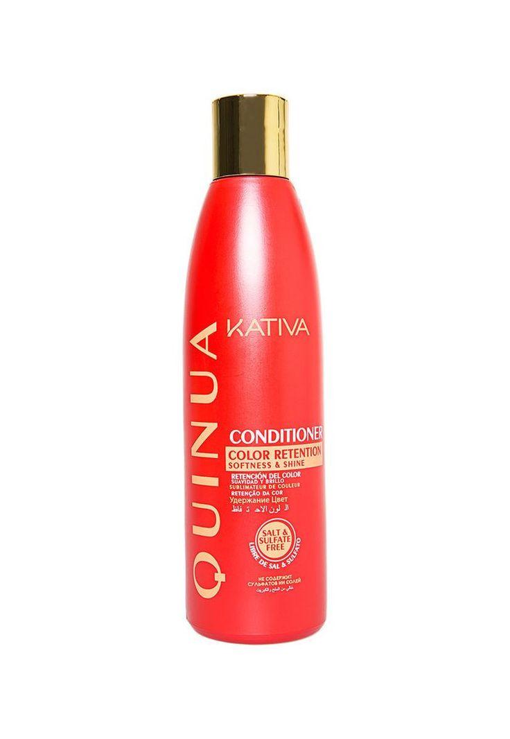 Κativa tucabello Natural Quinoa Conditioner. Εμπλουτισμένο με υδρολυμένη Quinoa, δημιουργεί ένα προστατευτικό στρώμα στην επιδερμίδα το οποίο βοηθά στην διατήρηση του χρώματος, στην ενυδάτωση την αποκατάσταση και την ενίσχυση των βαμμένων μαλλιών δίνοντας τους απαλότητα και κάνει τα μαλλιά σας ευκολοχτένιστα.