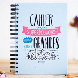 ★ Cahier pour grandes idées