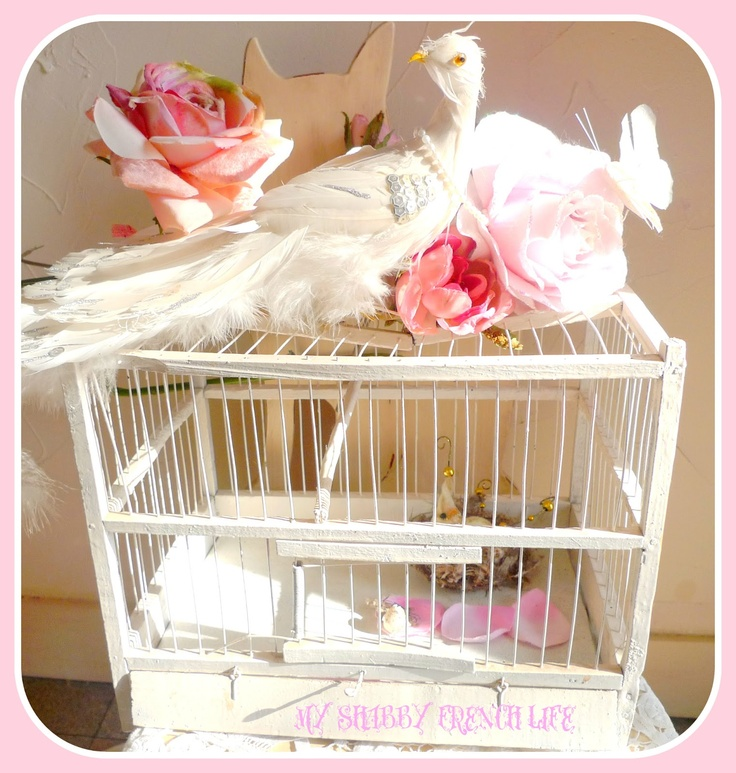 1000+ Images About Shabby Bird Houses And Cages On
