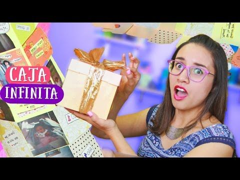 INFINITE BOX Never ending gift! (exploding box) ✎ ✄ Craftingeek - YouTube