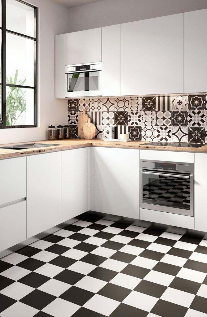 Blasts From The Past The 1970s Kitchen Patterned Floor Tiles Vintage Floor Floor Patterns