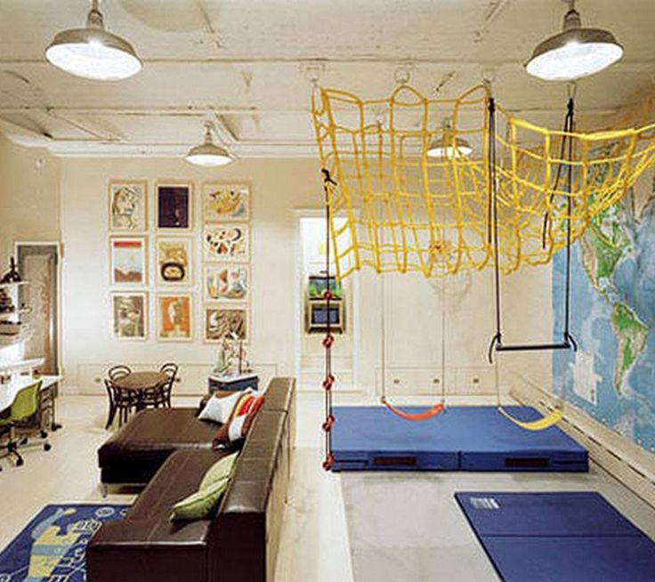 28 Decorating Ideas For Fun Playrooms And Kids Bedrooms Part 42
