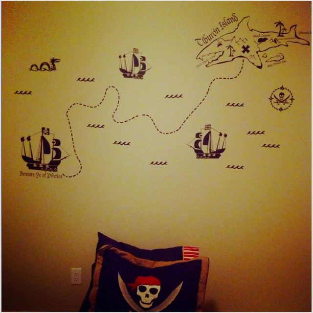 Great idea i bet we could do an awesome treasure map knvwall