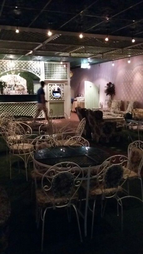 Madame Brussels,  a hidden rooftop bar with a tennis theme?  Anything goes right