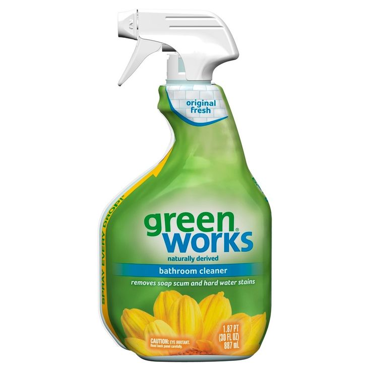 Green Bathroom Cleaners That Work: 25+ Best Ideas About Bathroom Cleaners On Pinterest