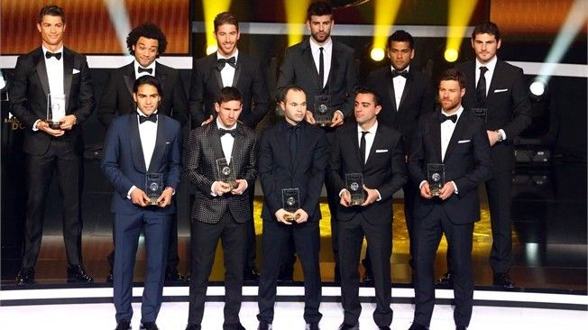 le World XI d'Europafoot - http://www.europafoot.com/le-world-xi-deuropafoot/