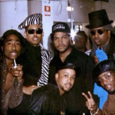 Ice Cube and Digital Underground - 20 Photos of L.A. Rappers in the '90s That You've Probably Never Seen | Complex UK