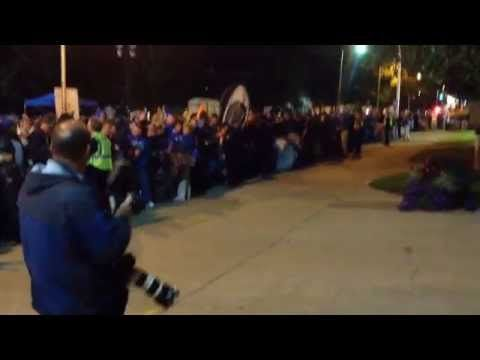 Campout starts after frantic dash for space to wait for Kentucky basketball Madness tickets | Basketball: Men | Kentucky.com