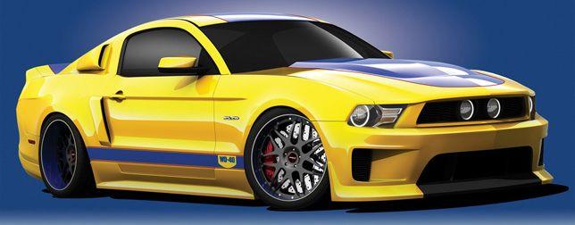 Mustang WD40 Edition   par automobilesreview