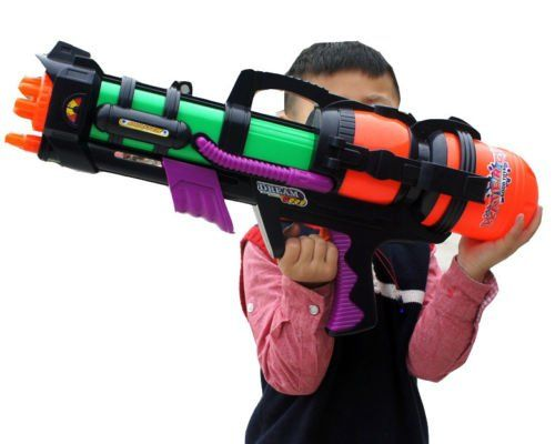 """#PopularKidsToys Just Added In New Toys In Store!Read The Full Description & Reviews Here - 23"""" Large Water Gun Pump Action Super Soaker Sprayer Outdoor Beach Garden Toy - #gallery-1 margin: auto; #gallery-1 .gallery-item float: left; margin-top: 10px; text-align: center; width: 33%; #gallery-1 img border: 2px solid #cfcfcf; #gallery-1 .gallery-caption margin-left: 0; /* see gallery_shortcode() in wp-includes/"""